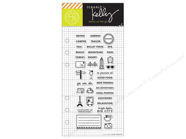 Hero Arts Poly Clear Stamp Kelly Planner Adventure