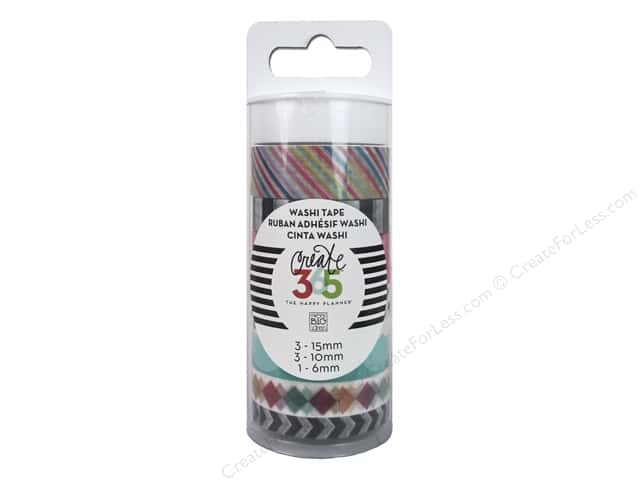 Me&My Big Ideas Create 365 Happy Planner Washi Tape Brights