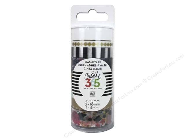 Me&My Big Ideas Collection Create 365 Happy Planner Washi Tape Tube Botanical Garden
