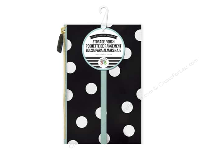 Me&My Big Ideas Create 365 Happy Planner Pouch Scattered Dots White
