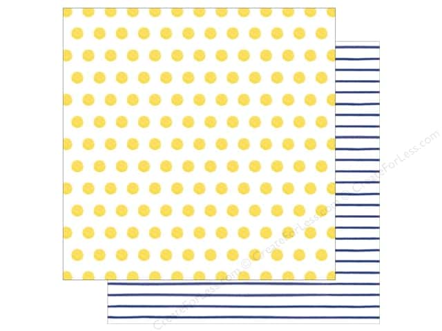 American Crafts 12 x 12 in. Paper Amy Tangerine Better Together Sun & Moon (25 sheets)
