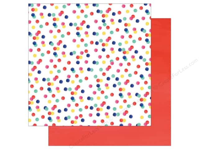 American Crafts 12 x 12 in. Paper Amy Tangerine Better Together Ladies & Gentlemen (25 sheets)