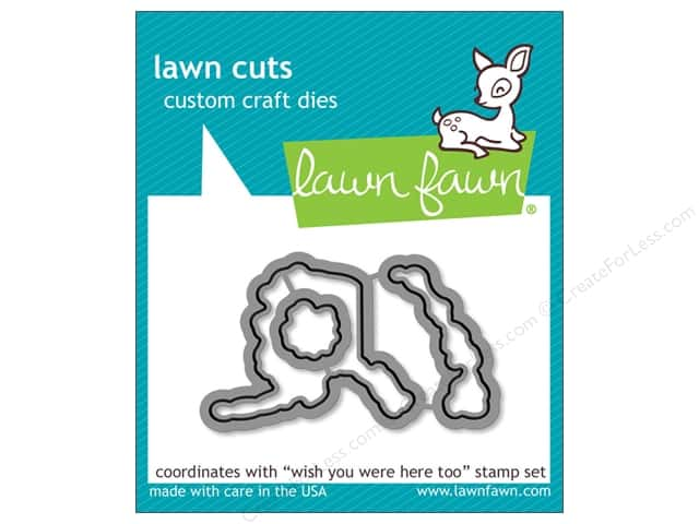 Lawn Fawn Cuts Die Wish You Were Here, Too