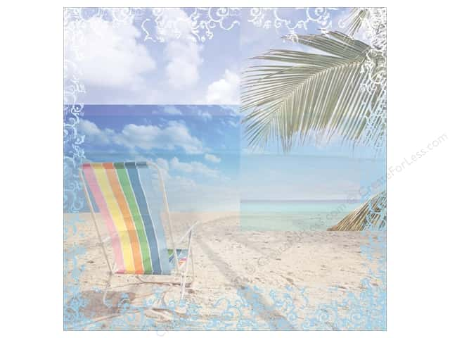 "Paper House Paper 12""x 12"" Beach Chair (25 sheets)"