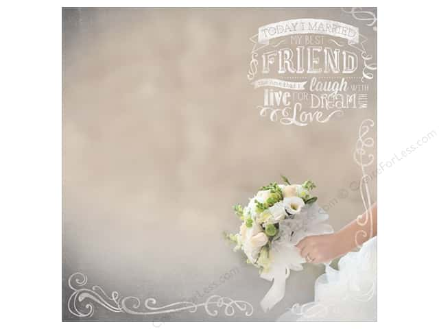 "Paper House Paper 12""x 12"" Bridal Bouquet (25 sheets)"