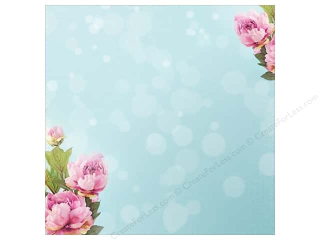 "Paper House Paper 12""x 12"" Peony Pink (25 sheets)"