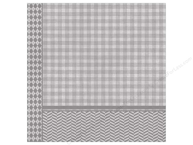 "Paper House Paper 12""x 12"" Dad's Plaid (25 sheets)"