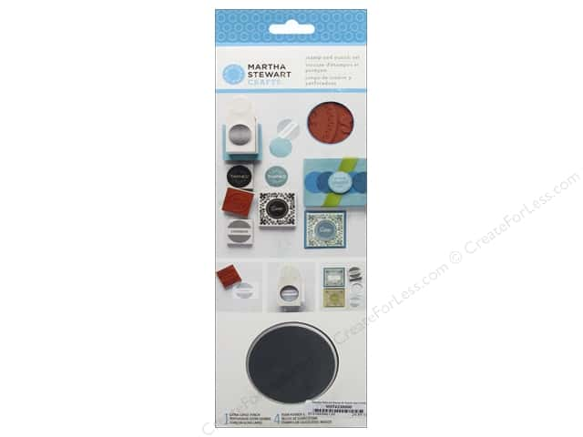Martha Stewart Stamp & Punch Set Circle