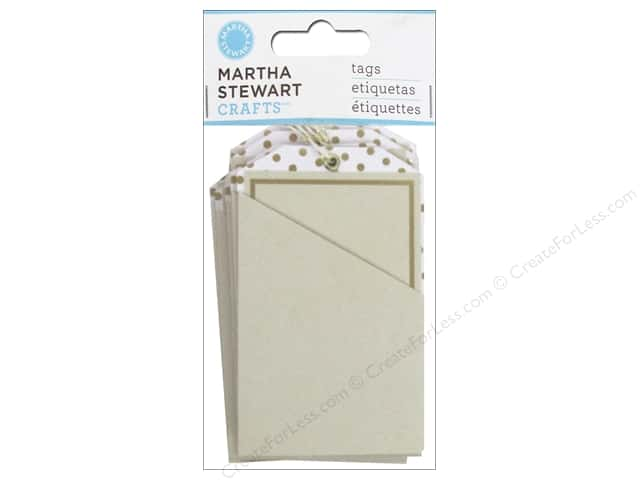 Martha Stewart Tag Pocket