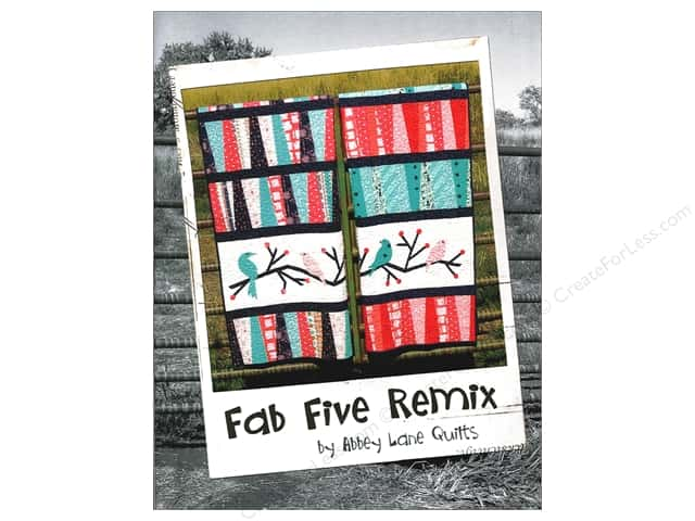 Fab Five Remix Book by Abbey Lane Quilts