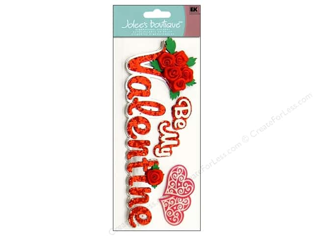 Jolee's Boutique Title Stickers Be My Valentine