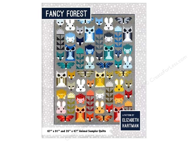 Elizabeth Hartman Fancy Forest Pattern