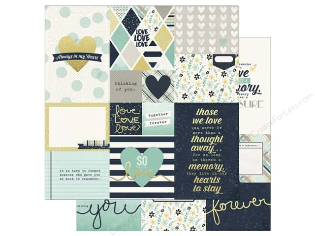 Simple Stories 12 x 12 in. Paper Heart Elements 2 (25 sheets)