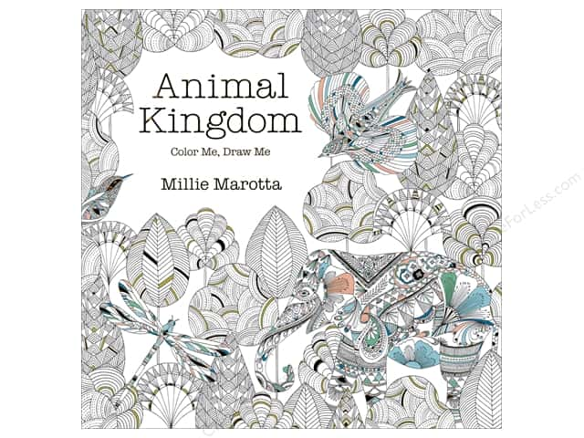 Lark Animal Kingdom Color Me, Draw Me Book