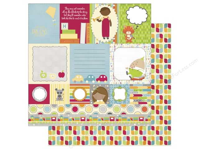 Bo Bunny 12 x 12 in. Paper Toy Box (25 sheets)