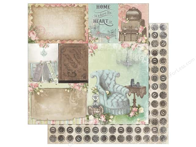 Bo Bunny 12 x 12 in. Paper Soiree Home (25 sheets)