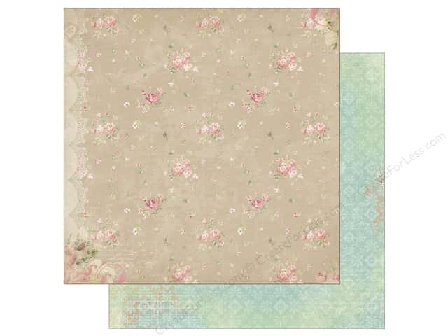 Bo Bunny 12 x 12 in. Paper Soiree Linens (25 sheets)