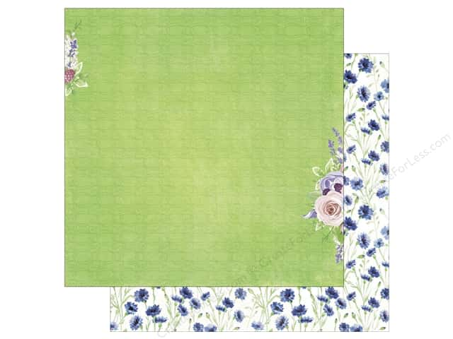 Bo Bunny 12 x 12 in. Paper Secret Garden Collection Planted (25 sheets)