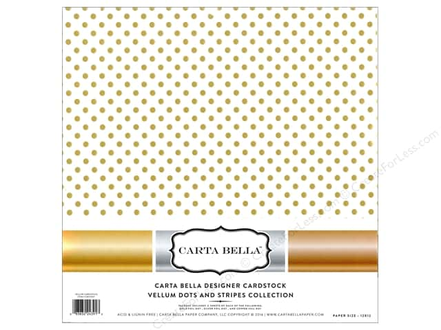 Carta Bella 12 x 12 in. Collection Kit Dots Vellum