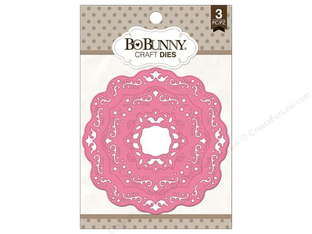 Bo Bunny Craft Dies 3 pc. Ornate Doilies