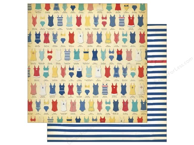Carta Bella 12 x 12 in. Paper Yacht Club Swimsuits (25 sheets)