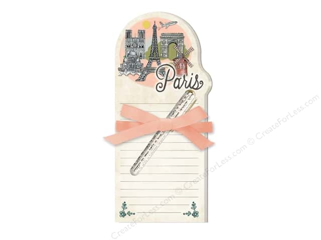 Lady Jayne Note Pad with Pen Globe Trotting