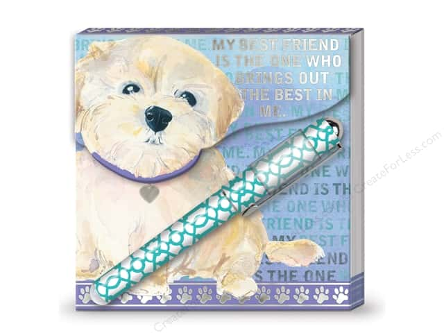Lady Jayne Matchbook Pad with Pen My BFF Dog