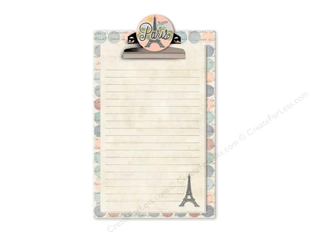 Lady Jayne Note Pad Clipboard Globe Trotting