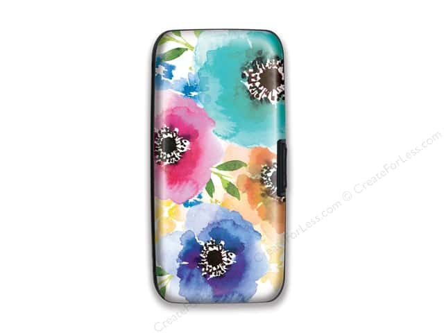 Lady Jayne Wallet Case Watercolor Blooms