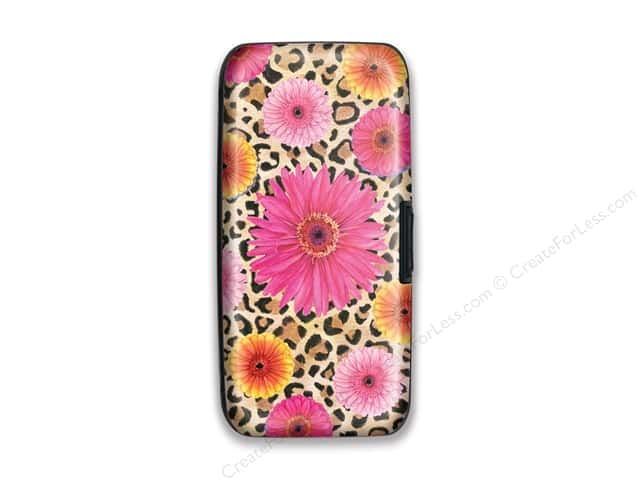 Lady Jayne Credit Card Case Leopard Floral
