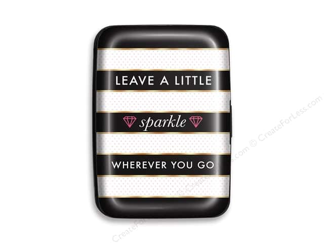 Lady Jayne Credit Card Case Sparkle Quote