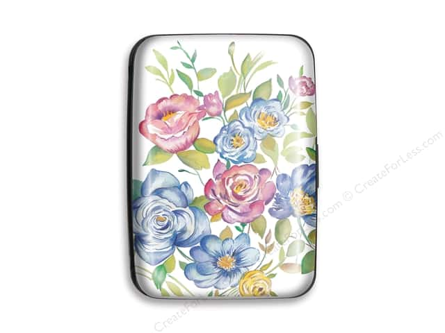 Lady Jayne Credit Card Case Fresh Blue Floral