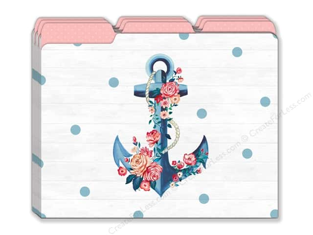 Lady Jayne File Folder Seaside Blooms 9pc