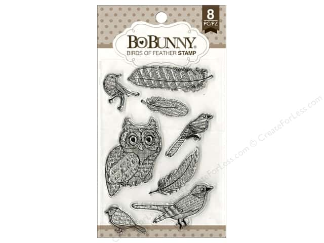 Bo Bunny Clear Stamps Birds Of A Feather