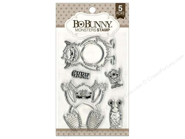 Bo Bunny Clear Stamps Monsters