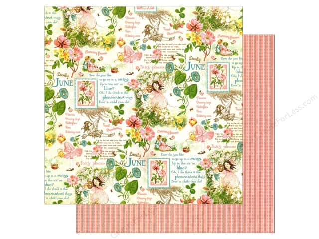Graphic 45 12 x 12 in. Paper Children's Hour June Montage (25 sheets)