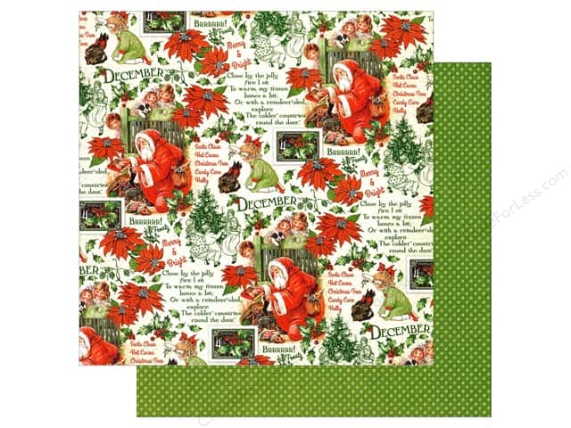 Graphic 45 12 x 12 in. Paper Children's Hour December Montage (25 sheets)