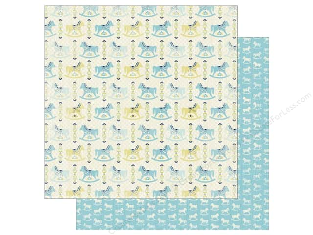 Authentique 12 x 12 in. Paper Cuddle Boy Two (25 sheets)