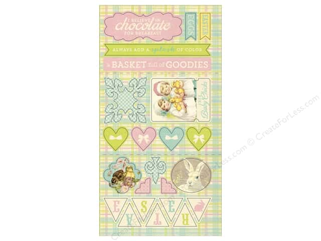 Authentique Die Cuts Springtime Components (12 sheets)