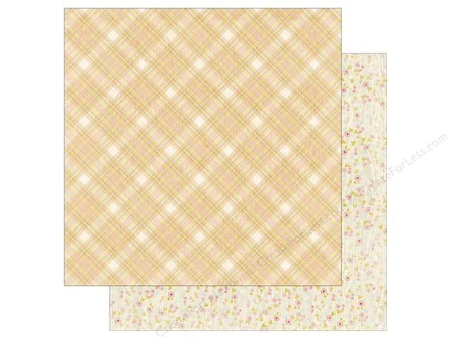 Authentique 12 x 12 in. Paper Cuddle Girl Five (25 sheets)
