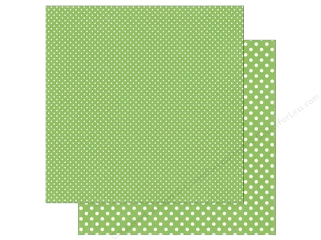 Echo Park 12 x 12 in. Paper Dots & Stripes Summer Limeade (25 sheets)