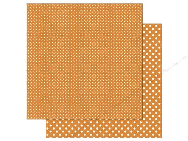 Echo Park 12 x 12 in. Paper Dots & Stripes Summer Peach (25 sheets)