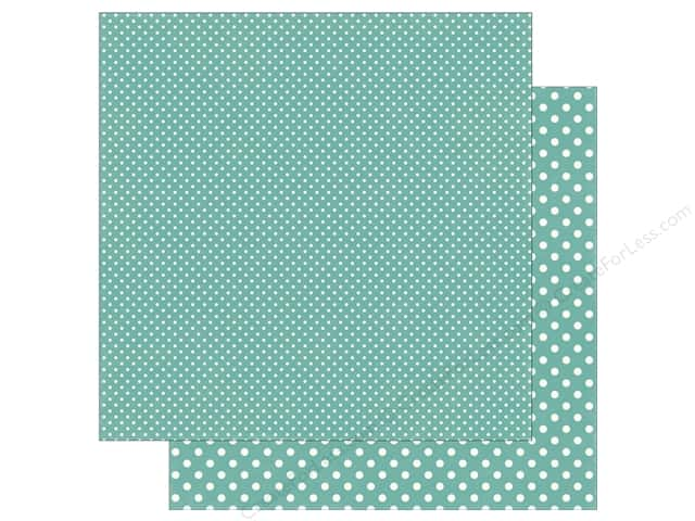 Echo Park 12 x 12 in. Paper Dots & Stripes Summer Blue Raspberry (25 sheets)
