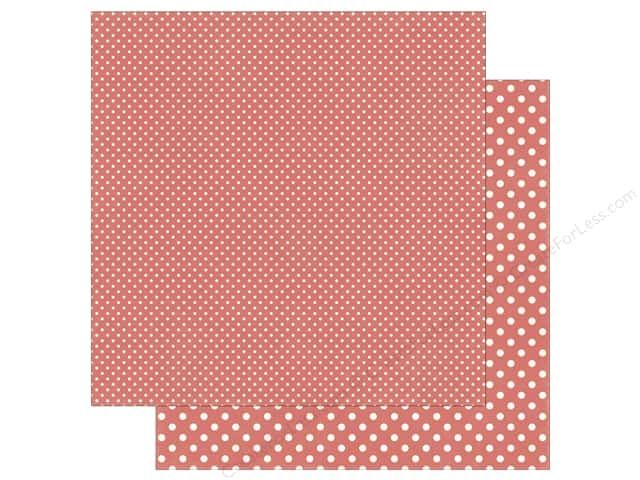 Echo Park 12 x 12 in. Paper Dots & Stripes Summer Strawberry (25 sheets)