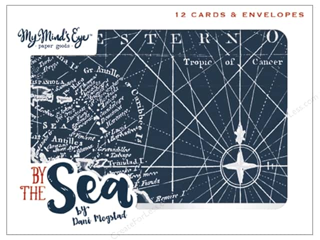 My Mind's Eye Collection By The Sea Card Set