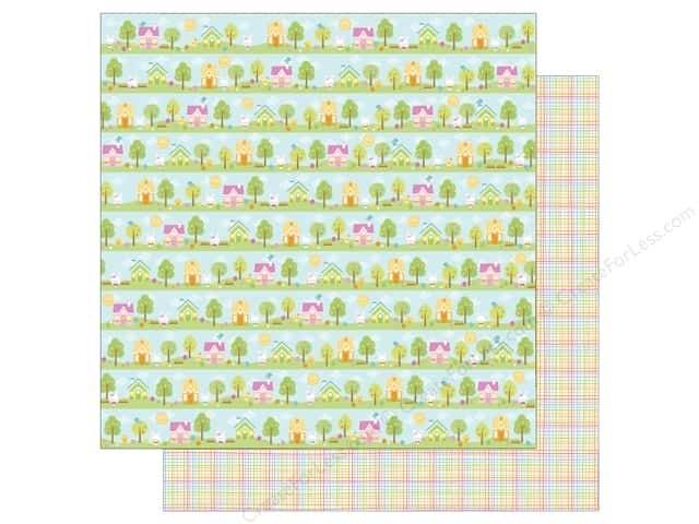 Doodlebug 12 x 12 in. Paper Bunnyville (25 sheets)