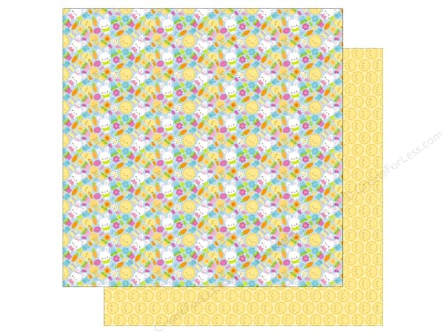Doodlebug 12 x 12 in. Paper Bunnyville Bunny & Co (25 sheets)