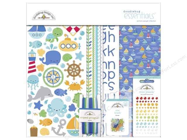 Doodlebug Essentials Kit Anchors Aweigh
