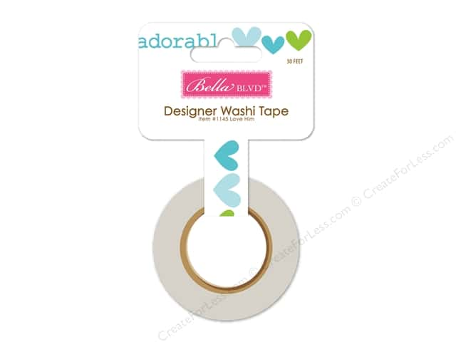 Bella Blvd Washi Tape Cute Baby Boy Love Him