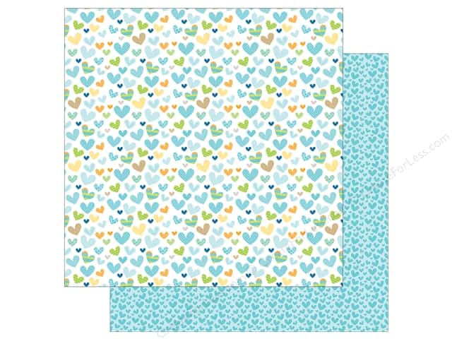 Bella Blvd 12 x 12 in. Paper Cute Baby Boy He Stole My Heart (25 sheets)